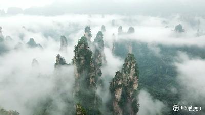 |Du lịch Trương Gia Giới| Khám phá non nước hùng vĩ Vũ Lăng Nguyên