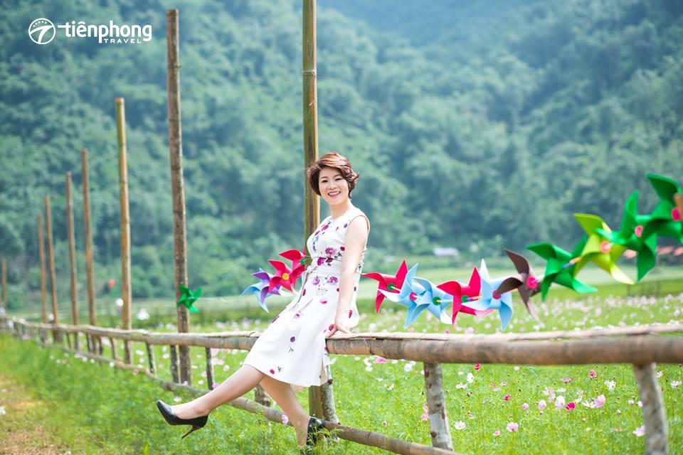 Du lịch Bắc Sơn - Thung lũng hoa Bắc Sơn khoe sắc