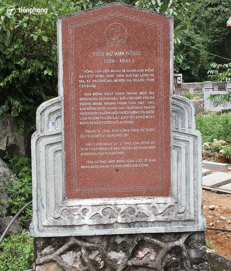 Khu di tích anh hùng liệt sĩ Kim Đồng