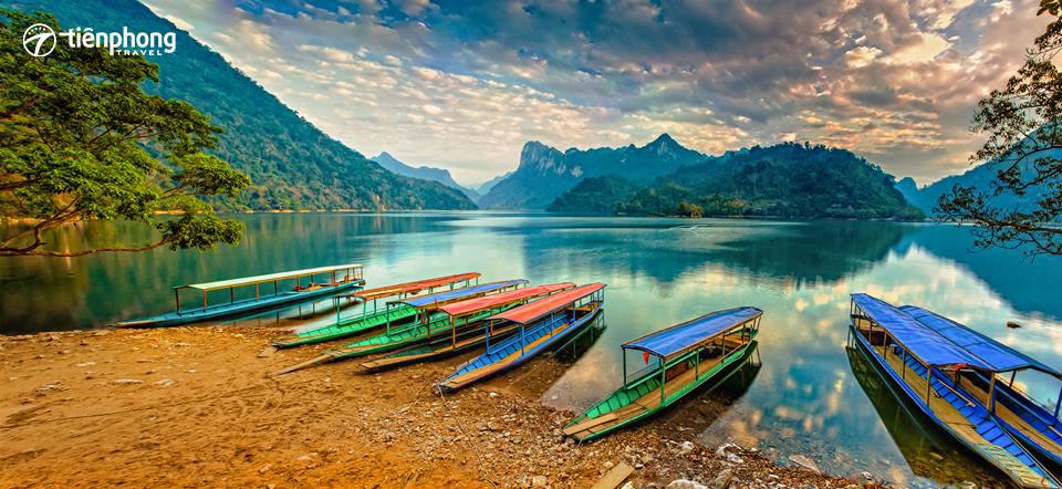 du lịch Cao Bằng - hồ Ba Bể