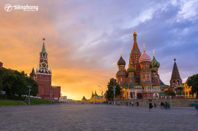 du lịch Nga - khám phá Quảng trường Đỏ