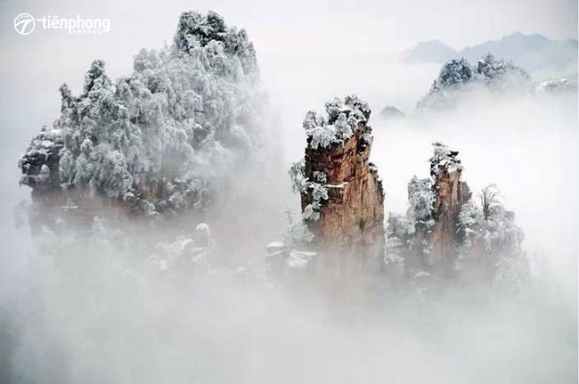Check in Trương Gia Giới mùa đông