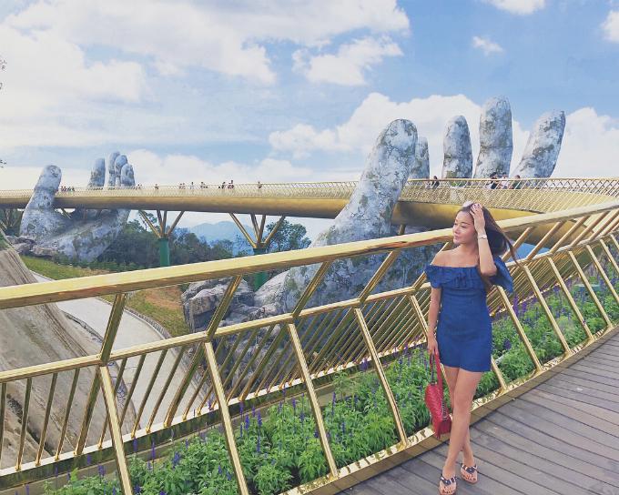 Du lịch Đà Nẵng - Check in cầu bàn tay - Tiên Phong Travel