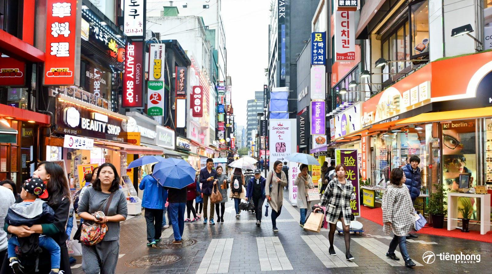 Top điểm đến không thể bỏ lỡ khi du lịch Hàn Quốc