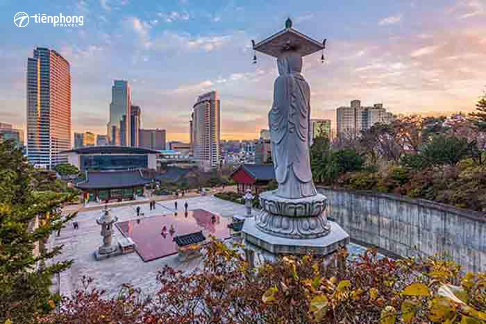 Du lịch Hàn Quốc khám phá những điểm đến hấp dẫn