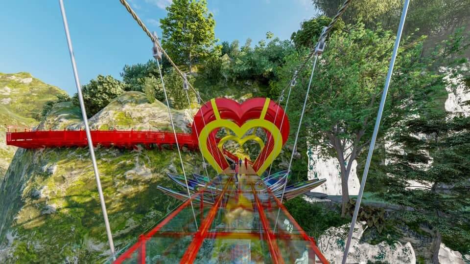 Du lịch Mộc Châu khám phá cầu kính tình yêu 5D