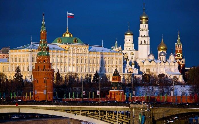 du lịch Nga - Điện Kremlin