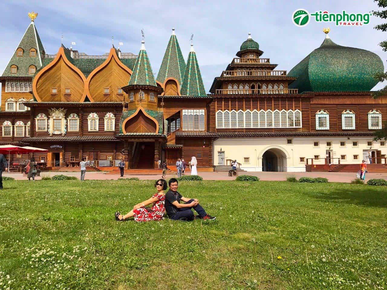 Công viên Kolomenskiy Nga