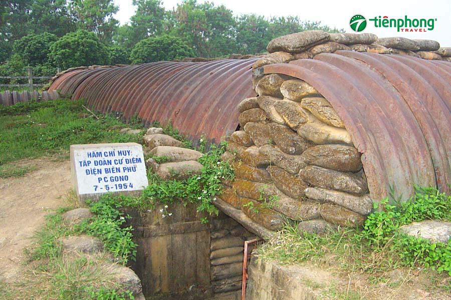Hầm Đờ Cát - Điện Biên