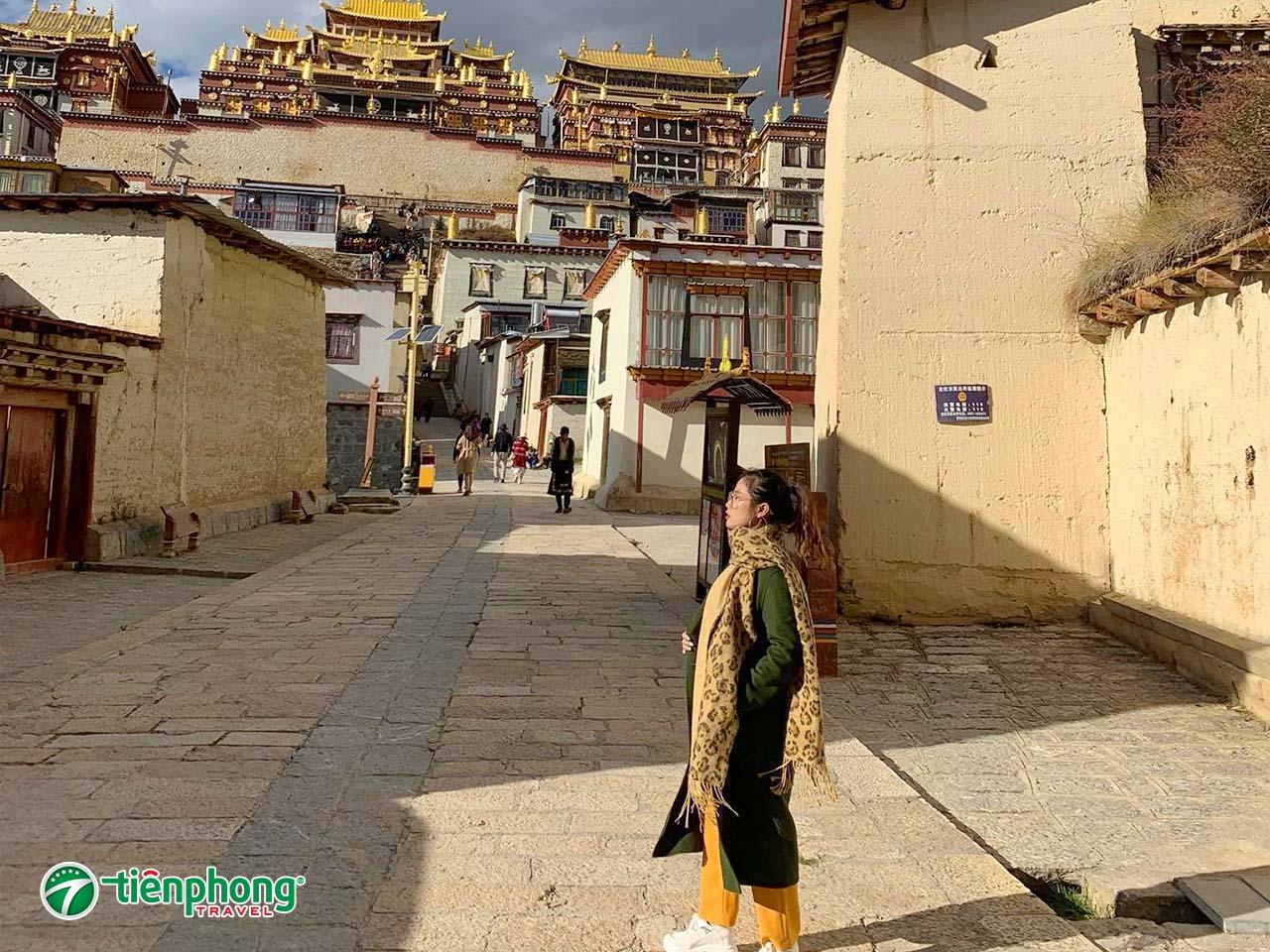 Tu viện Shongzalin ở shangriLa