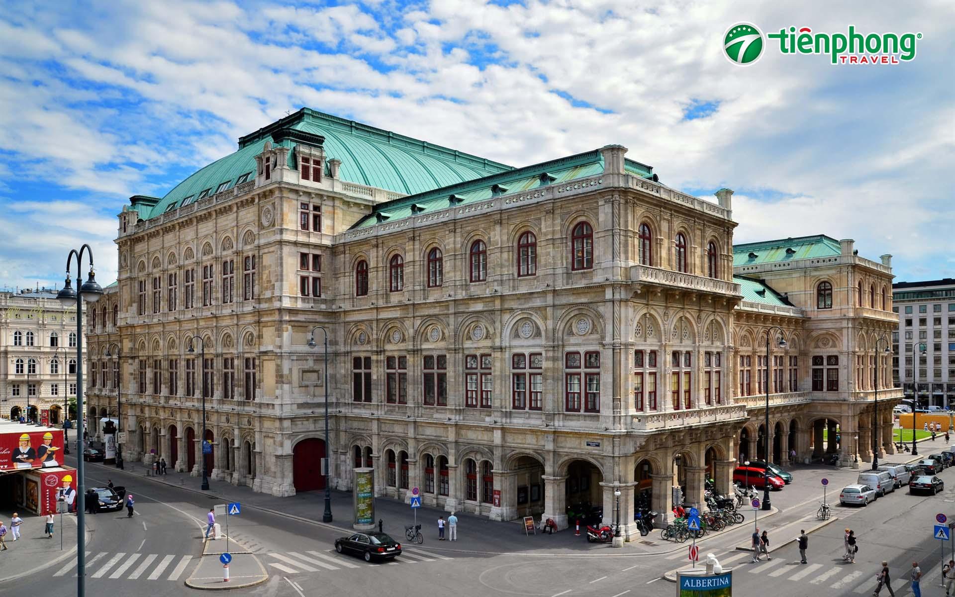 nhà hát Vienna Opera House