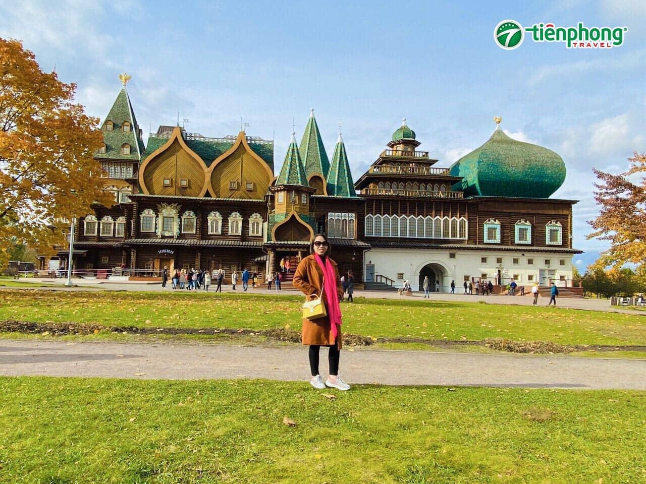 Công viên Kolomensk nước Nga