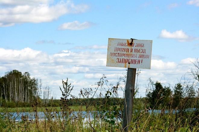 hồ tử thần Karachay tại nước Nga