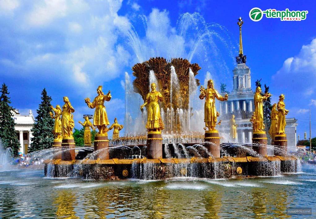 Công viên VDNKH nước Nga