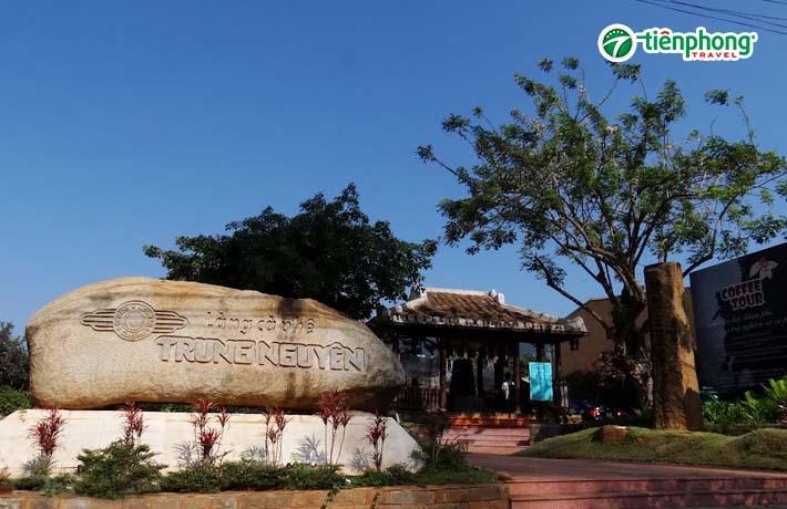 làng cà phê trung nguyên