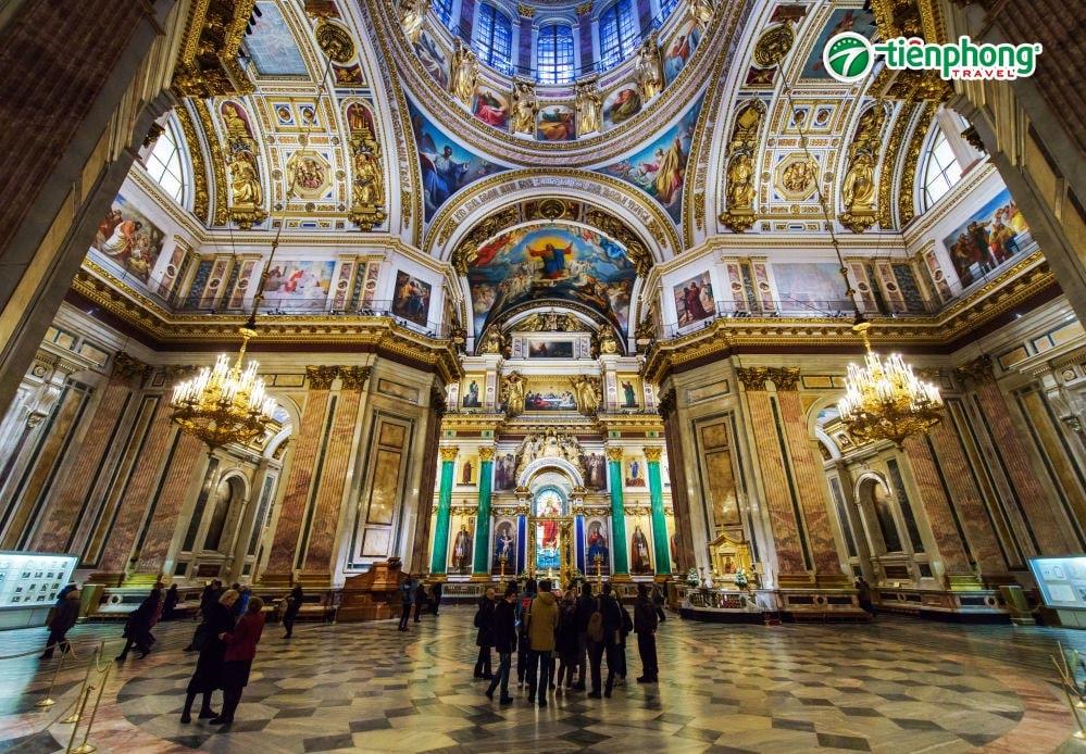 Nhà thờ thánh Issac  nước Nga