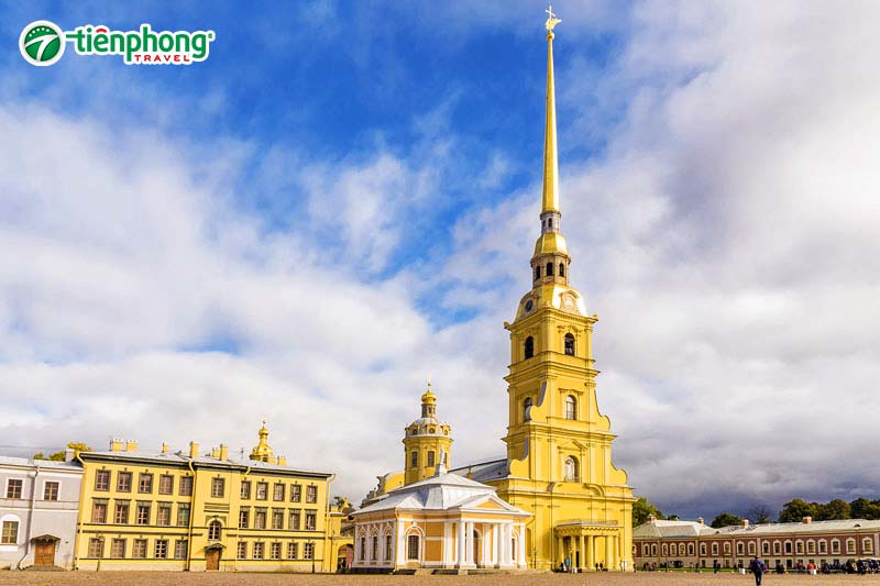 Pháo đàiPetropavlovskaya nước Nga