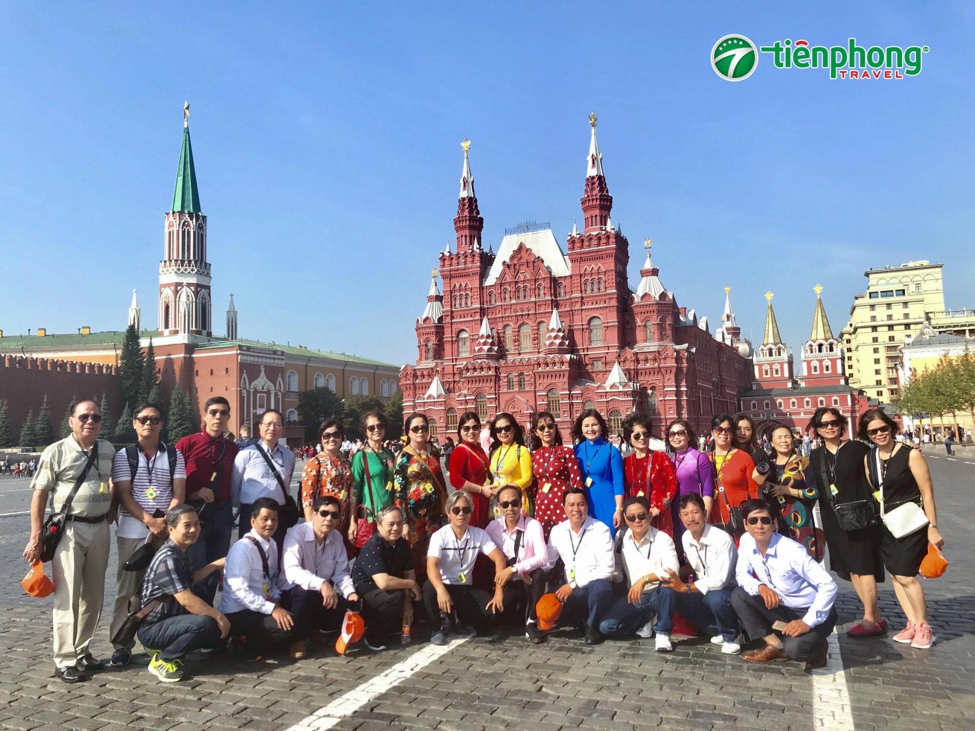 Quảng trường Đỏ nước Nga