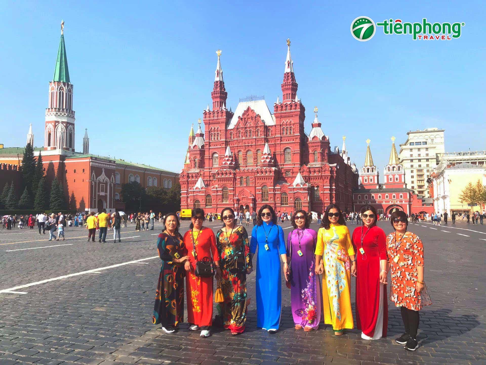Du lịch Nga - Quảng Trường Đỏ