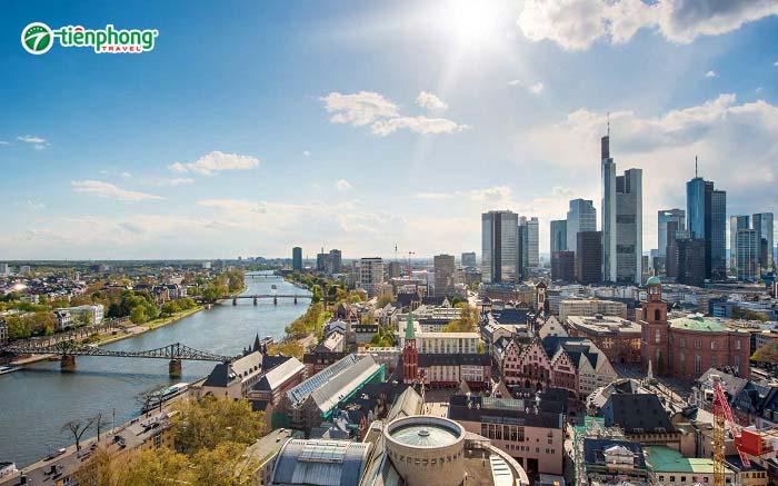 Thành phố Frankfurt Đức