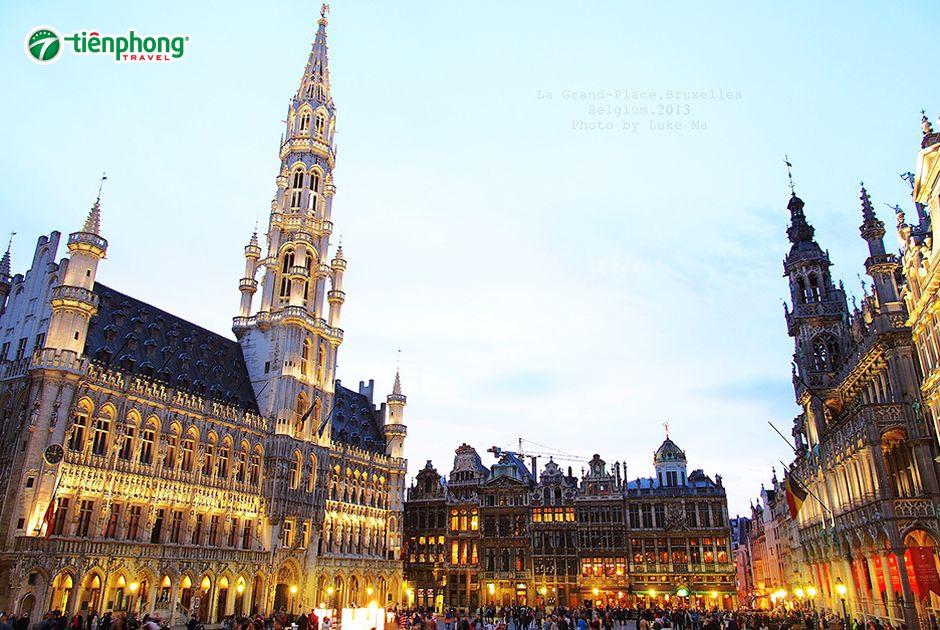 Tòa thị chính Brussels tại Bỉ