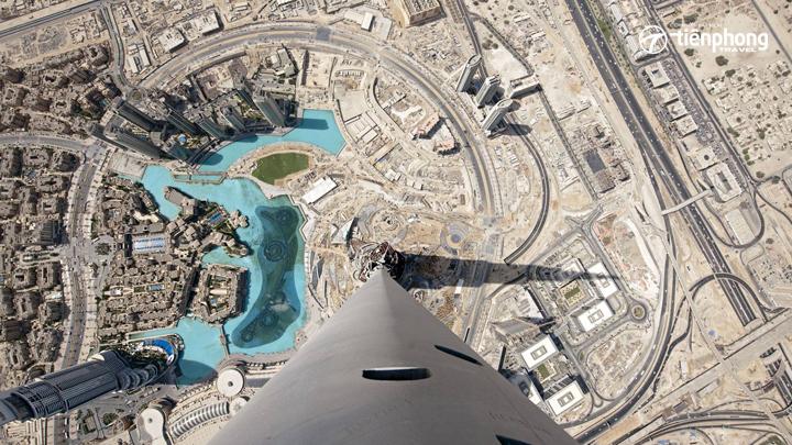 Tòa tháp Burj Khalifa, niềm tự hào của Dubai
