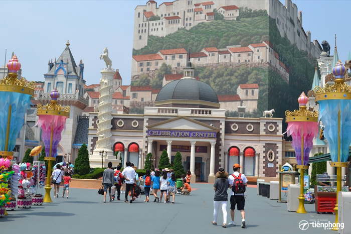 Europe Adventure in Everland Park