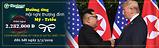 |Tiên Phong Travel| Chào đón Thượng đỉnh Mỹ - Triều đăng kí tour tặng ngay 2.282.000 đồng
