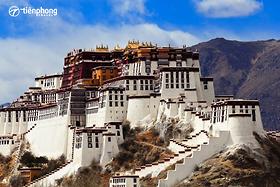Ngây ngất vẻ đẹp độc đáo của tu viện Songzalin nơi chân trời đã mất Shangrila