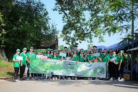 Chiến dịch Xanh - Hạn chế rác thải nhựa tại làng cổ Đường Lâm 2019