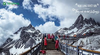 Vẻ đẹp kì vĩ của núi tuyết Ngọc Long - danh thắng bậc nhất Lệ Giang
