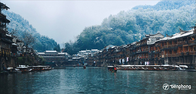 Sông Đà Giang - Nàng thơ chốn Phượng Hoàng cổ trấn