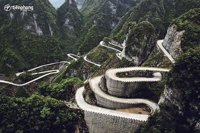 |Du lịch Trương Gia Giới| Chinh phục Thiên Môn Sơn - Đường tới cổng trời