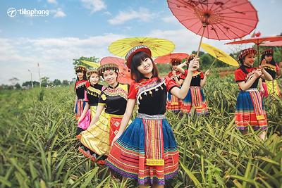 Kinh nghiệm du lịch Mộc Châu: Thuê trang phục dân tộc ở đâu Mộc Châu?