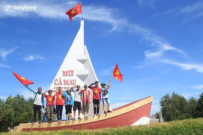  Du lịch Miền Tây  Chinh phục điểm cực Nam Tổ quốc – Đất Mũi Cà Mau