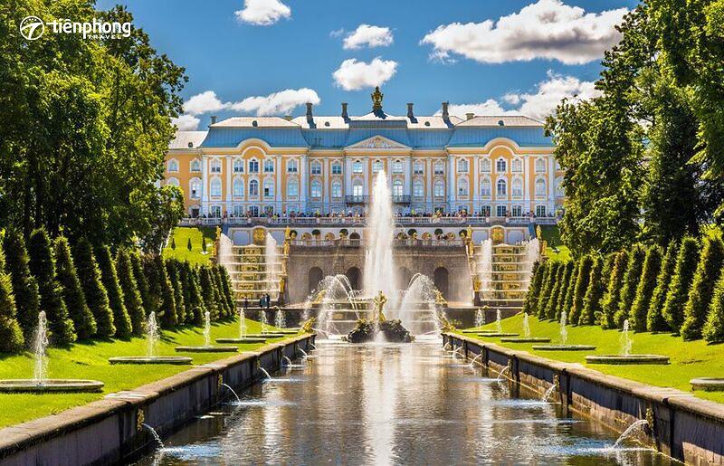 |Du lịch Nga| Mãn nhãn với cung điện mùa hè Peterhof đẹp như cổ tích