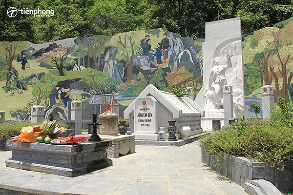 |Du lịch Cao Bằng| Khu di tích anh hùng liệt sỹ Kim Đồng - Mộ anh hùng liệt sỹ Nông Văn Dền