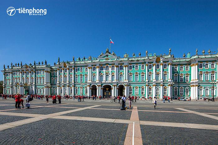 |Du lịch Nga| Những điều chưa được bật mí về Cung điện Mùa đông