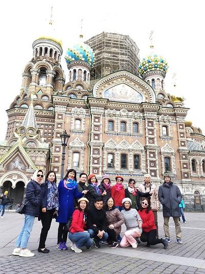 Chị Thủy - BIDV - Tour Nga tháng 09