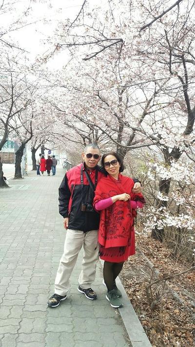 Cô Trịnh Kim Thu - Tour Hàn Quốc