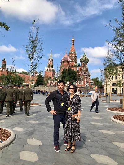 Cô Thanh Hà - Tour Nga tháng 7