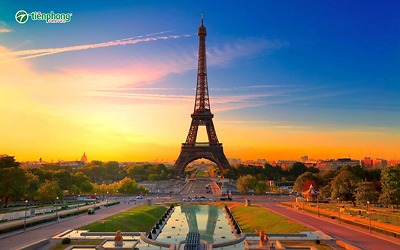 Du lịch Tây Âu: Pháp - Bỉ - Hà Lan - Đức
