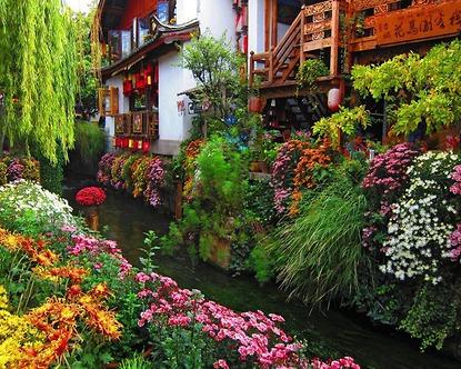 Du lịch Shangri La - Lệ Giang