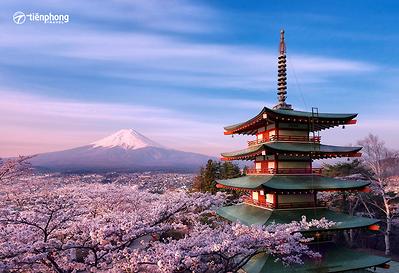 Du lịch Nhật Bản: Osaka-Kyoto-Núi Phú Sĩ-Tokyo 6 ngày 5 đêm