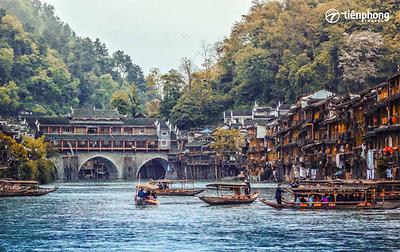 Phượng Hoàng cổ trấn - Quý Châu - Miêu Trại (đường bay)