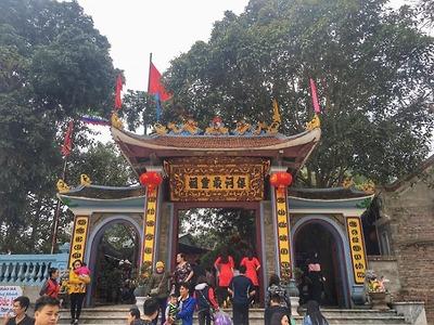 Du xuân Đền Ông Hoàng Bảy Đền Mẫu Đông Cuông