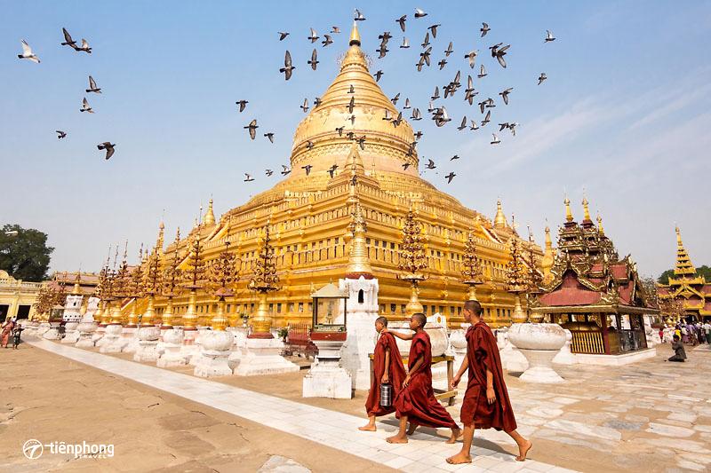 Du lịch Myanmar: Yangon-Kyaikhtiyo-Bago bay Vietjet