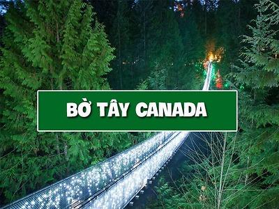 Du lịch bờ tây Canada