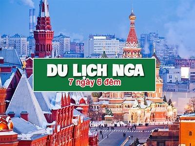 Du lịch Nga - Khám phá nước Nga: Moscow - Saint Petersburg