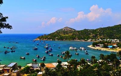 Đảo Tôm Hùm - Vịnh Vĩnh Hy - Vườn nho Ba Mọi